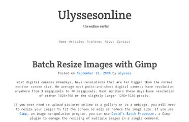 http://ulyssesonline.com/2008/09/22/batch-resize-images-with-gimp/