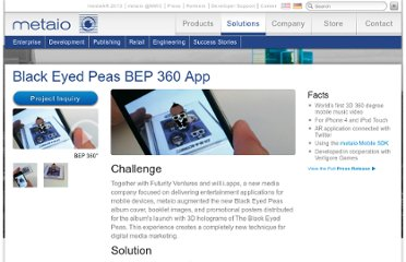 http://www.metaio.com/projects/mobile/black-eyed-peas-bep360-mobile-app/
