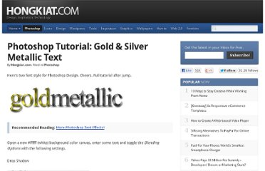 http://www.hongkiat.com/blog/gold-silver-metallic-text/