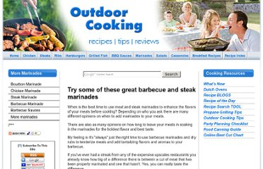 http://www.outdoor-cooking.com/steak-marinades.html