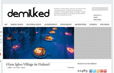 http://www.demilked.com/glass-igloo-village-in-finland/
