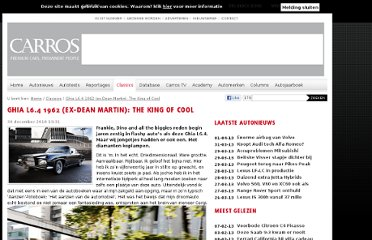 http://www.carros.nl/classics/28118-ghia-l6.4-1962-ex-dean-martin-the-king-of-cool/