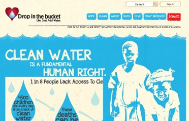 http://www.dropinthebucket.org/?_kk=water%20in%20developing%20countries&_kt=76140b03-c303-4746-b122-d67f981f4bb3
