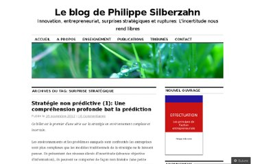 http://philippesilberzahn.com/tag/surprise-strategique/