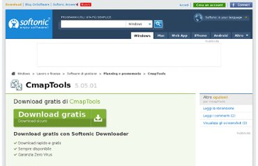 http://cmaptools.softonic.it/download