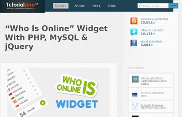 http://tutorialzine.com/2010/03/who-is-online-widget-php-mysql-jquery/