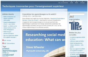 http://tipes.wordpress.com/2012/02/10/caracteriser-les-apprentissages-sur-le-web2-0/