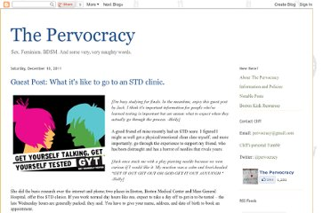http://pervocracy.blogspot.com/2011/12/guest-post-what-its-like-to-go-to-std.html