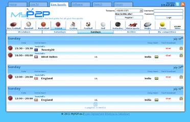 http://www.myp2p.eu/competition.php?competitionid=&part=sports&discipline=cricket