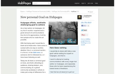 http://cloudexplorer.hubpages.com/hub/New-personal-Goal-on-Hubpages