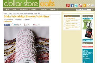 http://dollarstorecrafts.com/2012/02/make-friendship-bracelet-valentines/