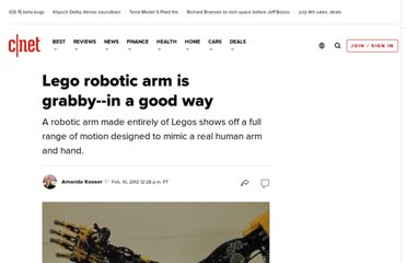 http://news.cnet.com/8301-17938_105-57374843-1/lego-robotic-arm-is-grabby-in-a-good-way/