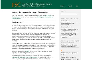 http://infteam.jiscinvolve.org/wp/2012/02/07/putting-the-user-at-the-centre-of-education/