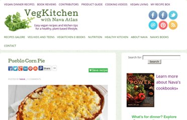 http://www.vegkitchen.com/recipes/special-occasions-and-entertaining/pueblo-corn-pie/
