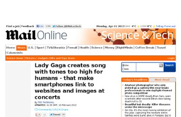 http://www.dailymail.co.uk/sciencetech/article-2099209/Lady-Gaga-uses-Sonic-Notify--inaudible-QR-code-smartphones.html