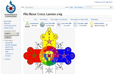 http://commons.wikimedia.org/wiki/File:Rose_Cross_Lamen.svg
