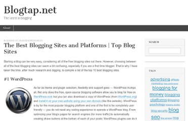 http://www.blogtap.net/the-best-blogging-sites-and-platforms-top-blog-sites/