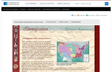 http://www.loc.gov/teachers/classroommaterials/presentationsandactivities/presentations/immigration/native_american.html
