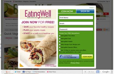 http://www.eatingwell.com/recipes_menus/recipe_slideshows/quick_vegetarian_recipes