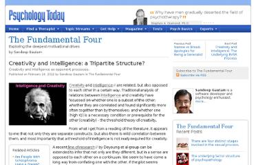 http://www.psychologytoday.com/blog/the-fundamental-four/201202/creativity-and-intelligence-tripartite-structure