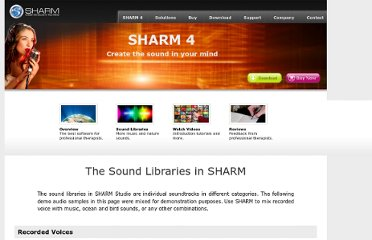 http://www.thesharm.com/sharm_libraries.html