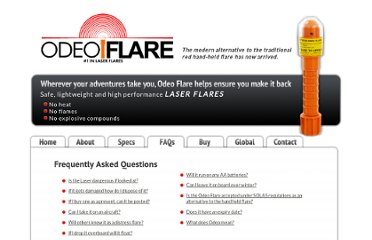 http://www.odeoflare.co.uk/faqs.html