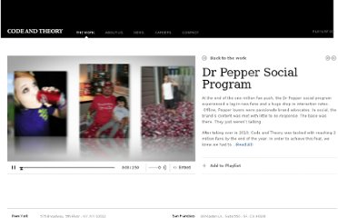 http://www.codeandtheory.com/#/work/2011/dr-pepper-social/
