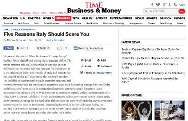 http://business.time.com/2011/11/09/five-reasons-italy-should-scare-you/
