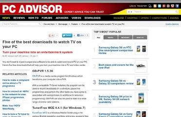 http://www.pcadvisor.co.uk/features/software/3289821/five-of-the-best-downloads-to-watch-tv-on-your-pc/