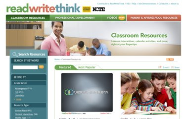 http://www.readwritethink.org/classroom-resources/