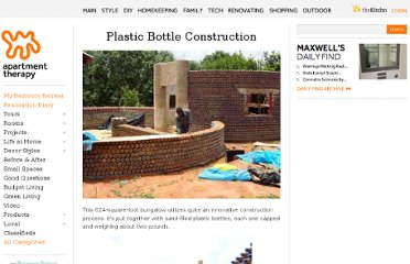 http://www.apartmenttherapy.com/plastic-bottle-construction-160405