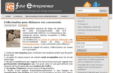 http://www.futurentrepreneur.fr/2011/04/10/l%e2%80%99effectuation-pour-distancer-vos-concurrents/