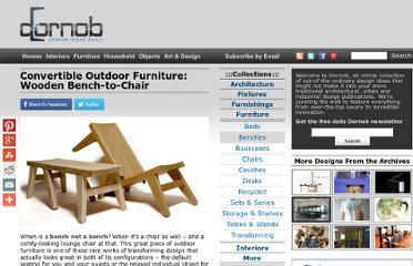 http://dornob.com/convertible-outdoor-furniture-wooden-bench-to-chair/