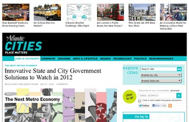 http://www.theatlanticcities.com/jobs-and-economy/2012/01/innovative-local-government-solutions-watch-2012/951/