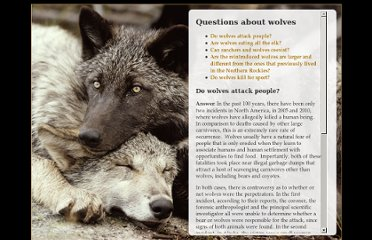 http://www.livingwithwolves.org/AW_question1.html