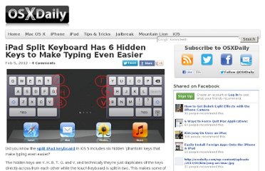 http://osxdaily.com/2012/02/05/ipad-split-keyboard-hidden-keys/