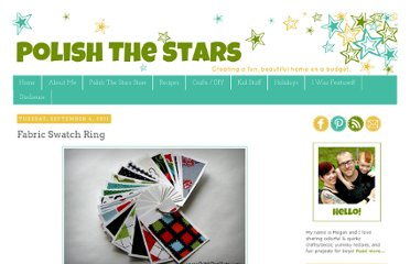 http://www.polishthestars.com/2011/09/fabric-swatch-ring.html