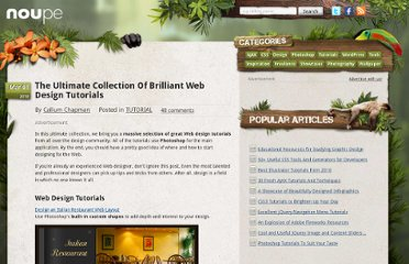 http://www.noupe.com/tutorial/the-ultimate-collection-of-brilliant-web-design-tutorials.html