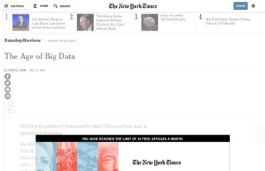 http://www.nytimes.com/2012/02/12/sunday-review/big-datas-impact-in-the-world.html?pagewanted=all