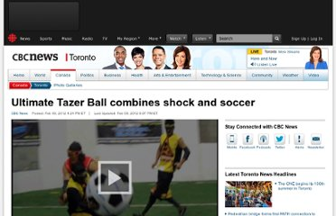 http://www.cbc.ca/news/canada/toronto/story/2012/02/09/taser-ball-league.html