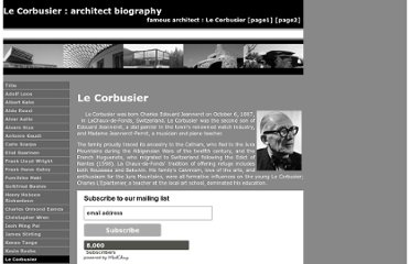 http://architect.architecture.sk/le-corbusier-architect/le-corbusier-architect.php
