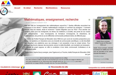 http://educmath.ens-lyon.fr/Educmath