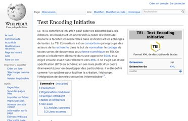 http://fr.wikipedia.org/wiki/Text_Encoding_Initiative
