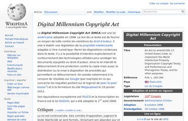 http://fr.wikipedia.org/wiki/Digital_Millennium_Copyright_Act