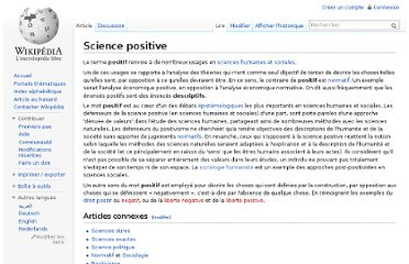 http://fr.wikipedia.org/wiki/Science_positive