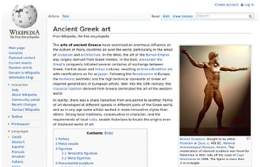http://en.wikipedia.org/wiki/Ancient_Greek_art