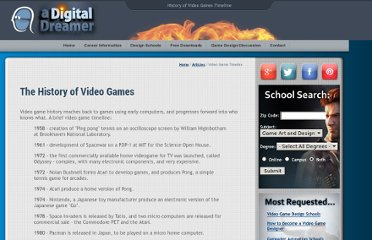 http://www.adigitaldreamer.com/articles/history-of-video-games.htm