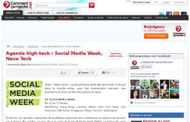 http://www.commentcamarche.net/news/5858226-agenda-high-tech-social-media-week-nano-tech