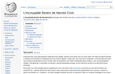 http://fr.wikipedia.org/wiki/L%27Incroyable_Destin_de_Harold_Crick
