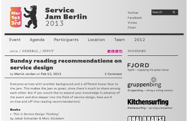 http://www.servicejamberlin.de/reading-recommendations-getting-into-service-design/